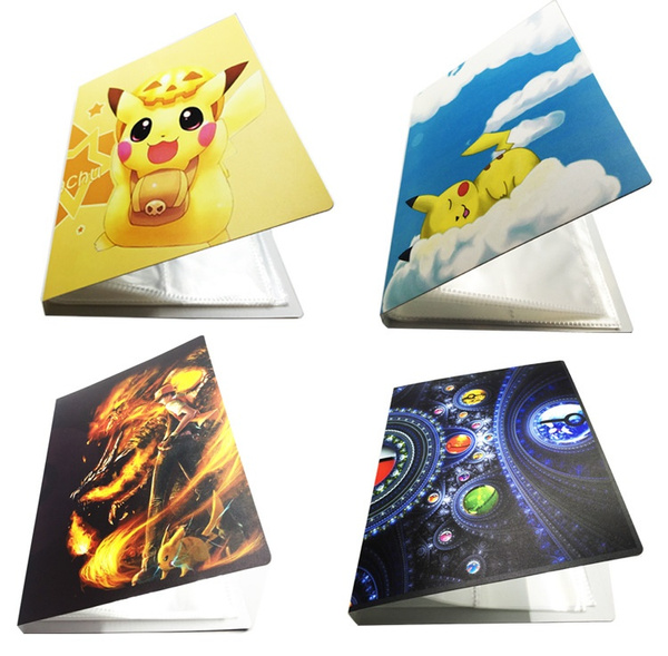 Pokemon Cards Album Book List Card Collectors Holds 112 Pokemon Cards