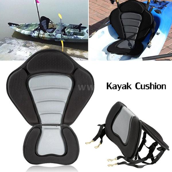 Hot Sale Deluxe Kayak Seat Boat Seat Soft and Antiskid Base High Backrest  Adjustable Kayak Cushion Seat with Backrest