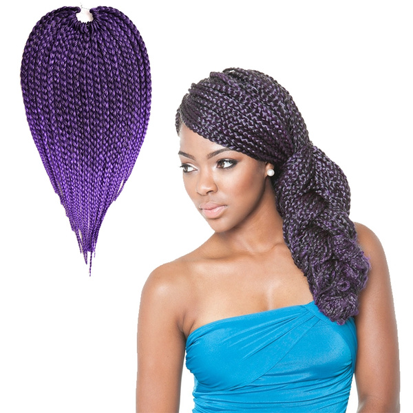 Long Hair Style 18 Box Braids Hair 100gpack 3s Freetress Crochet