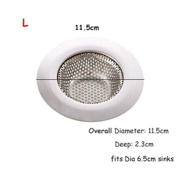 Wish | Residue New Arrival Shower Drain Cover Catcher Hair Trap Holes  Anti Blocking Bathtub Drain Strainer Sink Filter Waste Stopper Bathroom  Plug Filter