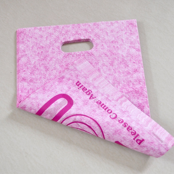 Wish Whole Hot Pink Thank You Design Plastic Bag 20x25cm