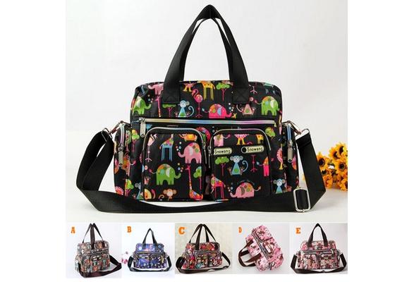 Women Fashionwomen handbagsprinting shoulders bag high quality New arrival fashion big size handbags women fashion nylon waterproof leisure Shopping Bags