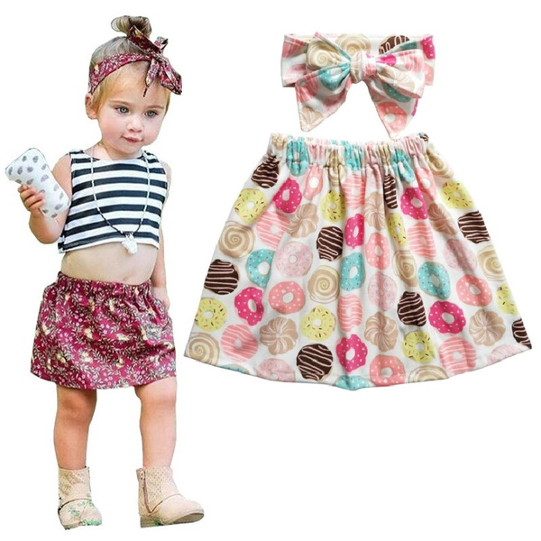 Newborn Photography Props Infant Costume Outfit Cute Camo Baby Skirt +  Infant Baby Headband Baby Girl Dress