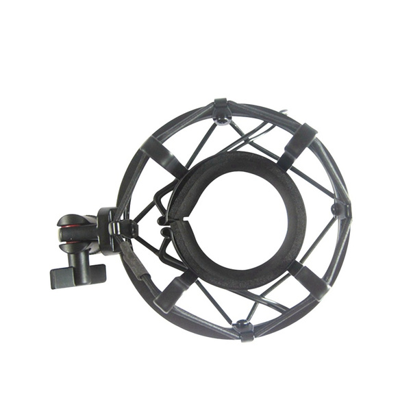 MXL Silver Shock Mount compatible with Studio Projects C1 Microphone