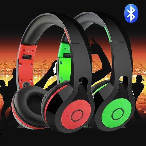 Picture of Foldable Wireless Bluetooth Headphone For Iphone Cellphone Pc Laptop Normal Or Glowing