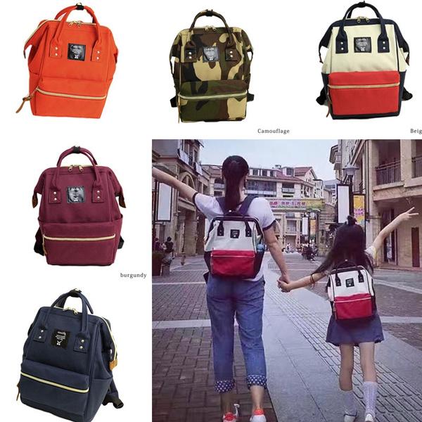 c21ef362f30 Fashion Anello Bag Unisex Casual Street Bag School Backpacks Bookbag ...