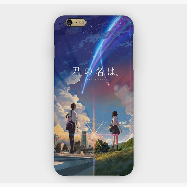 Kimi No Na Wa Your Name Pattern Phone Case For Iphone And Samsung
