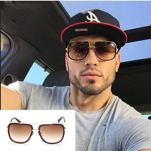2017 Brand Designer Sunglasses Men Women Retro Vintage Sun Glasses Big Frame Fashion Glasses Top Quality Eyeglasses Uv400 by Wish