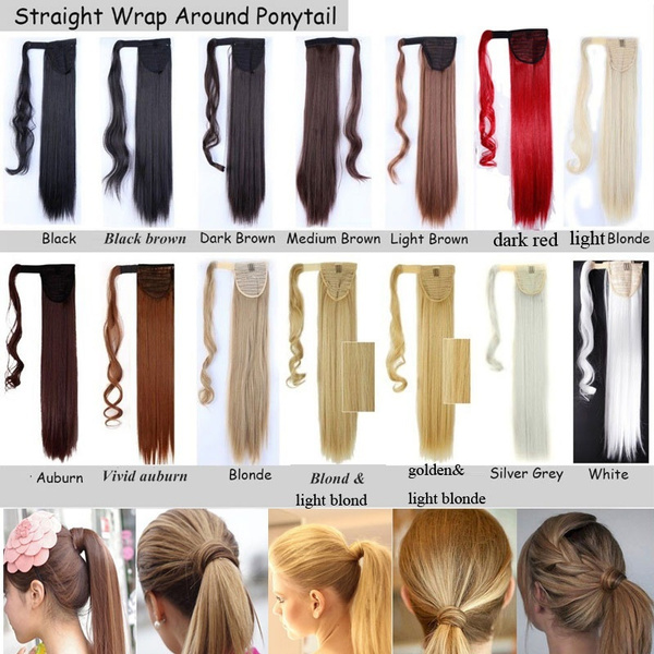 Geek So Sexy Wrap Around Ponytail Ponytail Hairpiece Clip In Hair