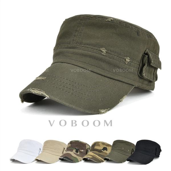 287d5e89bced1 Voboom Army Cadet Military Patrol Castro Cap Hat Men Women Golf ...
