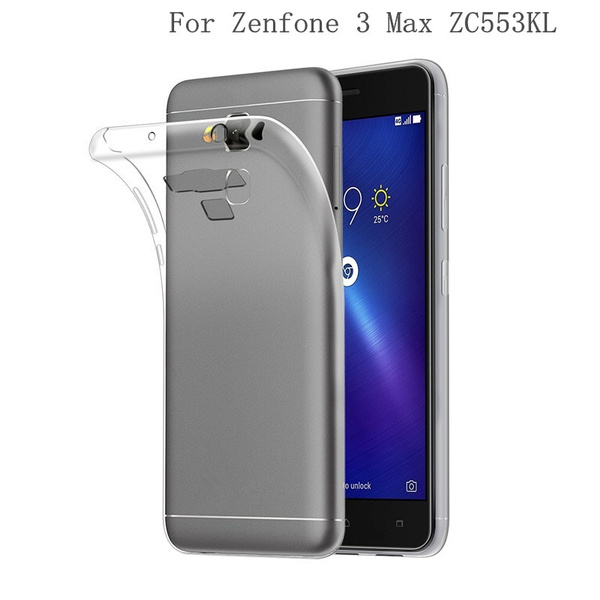 lowest price 255c8 85a5e For Asus Zenfone 3 Max ZC553KL Case Cover 5.5 inch TPU Soft Cover Phone  Case For Zenfone 3 Max ZC553KL Back Cover Case