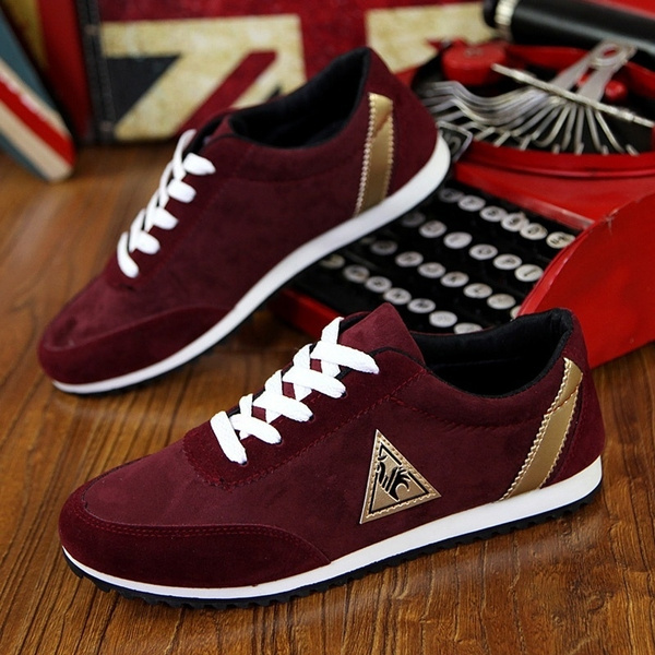Picture of New Fashion Mens Shoes Mens Leather Shoes Casual Shoes Breathable Flat Shoes Flat Shoes Comfort Shoes