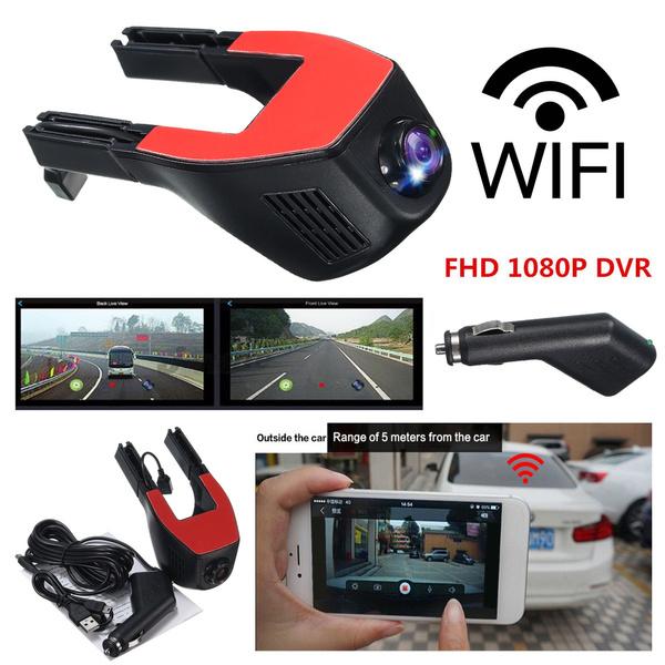 Winksoar 1080P WiFi 170° Hidden Car DVR Dash Camera Video Recorder G-Sensor  Hobbies