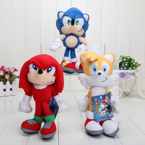 8 20cm Sonic The Hedgehog Plush Toy Hedgehog Stuffed Plush Dolls Toys Christmas Gift Wish