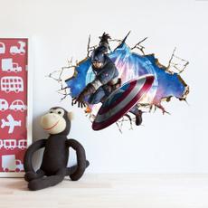 kidsroomdecal, art, marvelsuperheroe, Wall Art