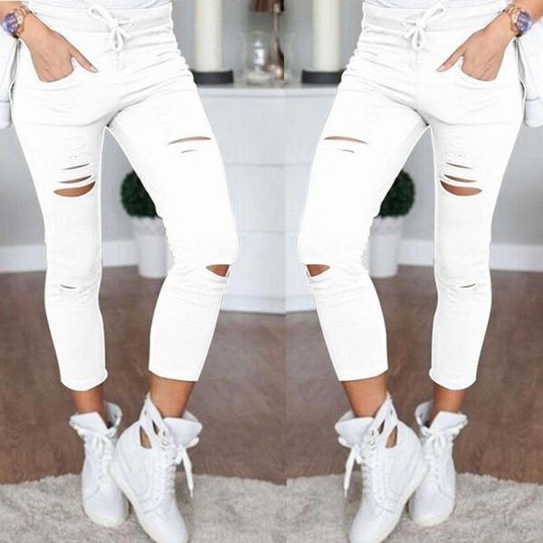 Slim Fit, high waist jeans, pants, womenslimtrouser