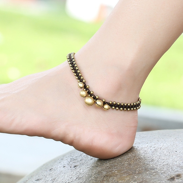 Anklets, Chain, Ornament, Female