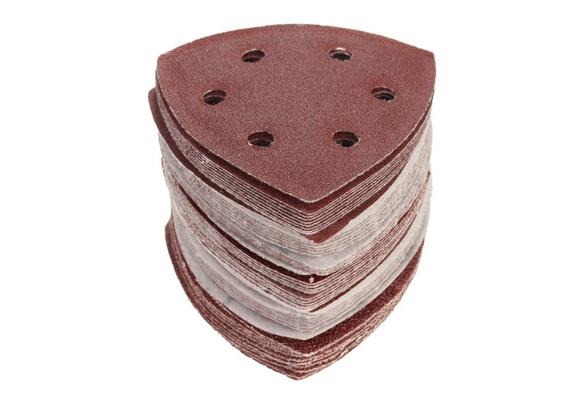 80 Bosch Multi Sanding Sheets WOOD 10pc 120 or 180Grit 40