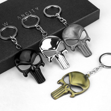 skullkeyring, Fashion, Key Chain, Jewelry