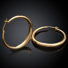 Fashion, simpleearring, gold, Stud Earring