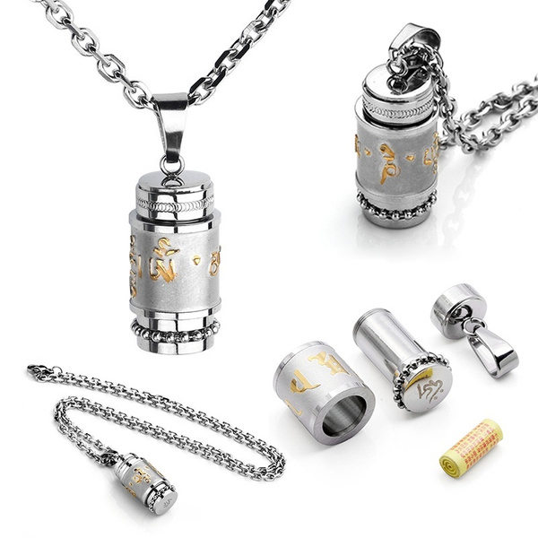tibetanommantrapendantnecklace, Jewelry, Fashion necklaces, necklacekeepsake