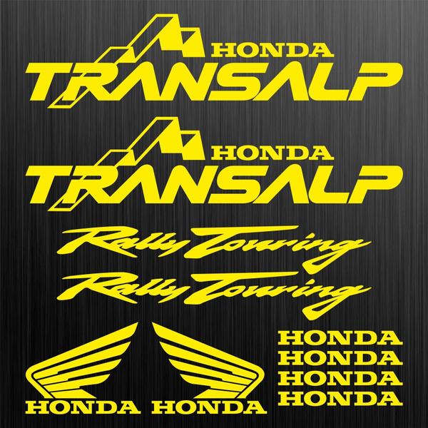 Honda Transalp Rally Touring Aufkleber Sticker 10 Stücke Pieces