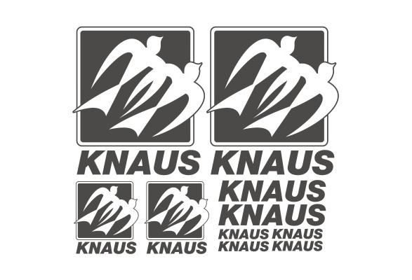 Knaus Old Aufkleber Sticker Wohnmobil Camper Wohnwagen Caravan 10 Stücke Pieces