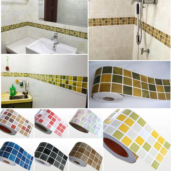 Bathroom, kitchenwallsticker, selfadhesivewallpaper, Waterproof