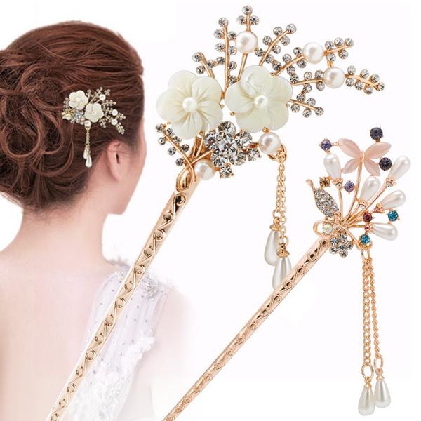 hairdecoration, Tassels, DIAMOND, gilrssimple