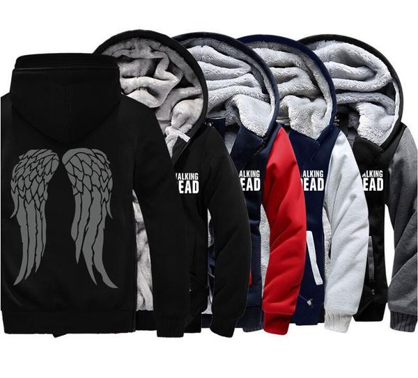 Walking Dead Daryl Dixon Norman Reedus Sweater Jacket Hoodie COSplay Costume