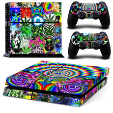 Playstation, Video Games, Console, Colorful