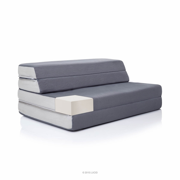 Awesome Lucid 4 Inch Folding Mattress And Sofa Bed Unemploymentrelief Wooden Chair Designs For Living Room Unemploymentrelieforg