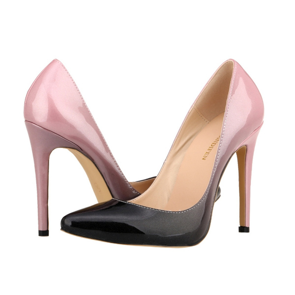 Picture of Ultra Fashionwomen Sexy Gradient Pointed-toe High Heels Casual Party Wedding Work Shoe