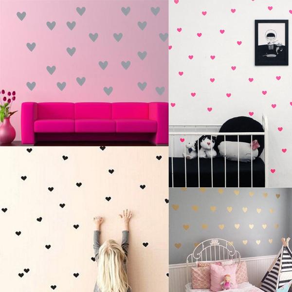 loveheartwallsticker, Decor, art, Home & Kitchen