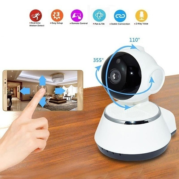 720P Wireless Pan Tilt Security Network CCTV IP Camera Night Vision WIFI Webcam