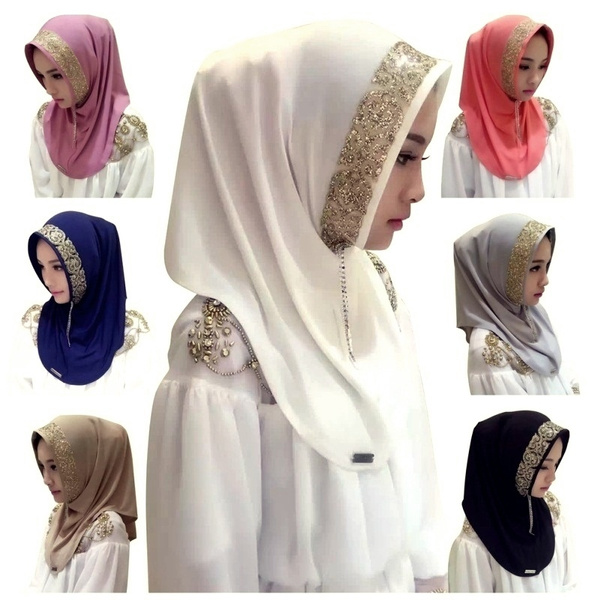 Clothing & Accessories, Fashion, head scarf, Elegant