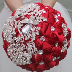 Flowers, Crystal, Bouquet, crystalweddingbouquet