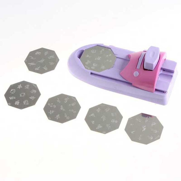 Wish | DIY Nail Art Tool machine stamping printing Colors Drawing ...