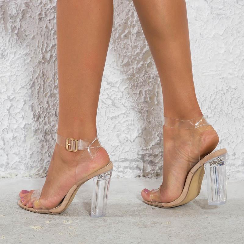 Us 7 dell'articoloScarpe 5 11 con con tacchi altipumps da sandaliColoretrasparenteTagliaTaglia donna 9 10 4 6 8 Tipo iukXZP