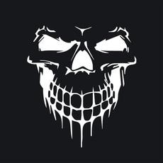 Car Sticker, Head, Fashion, skull