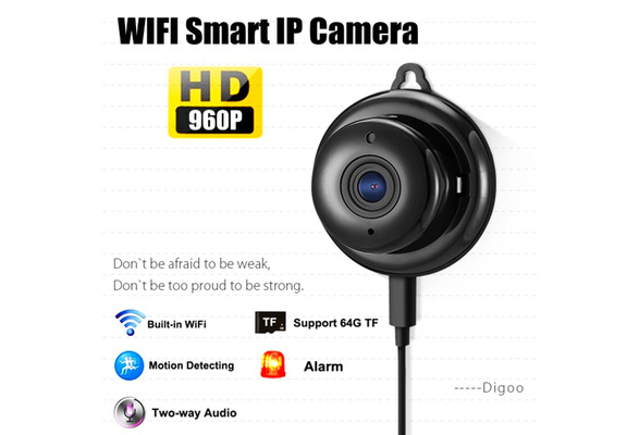Digoo - DG-M1Q 960P 2 8mm Wireless Mini WIFI Night Vision Smart Home  Security IP Camera Onvif Monitor
