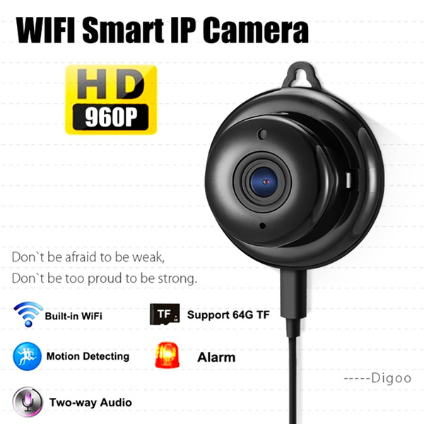 Digoo - DG-M1Q 960P 2 8mm Wireless Mini WIFI Night Vision Smart Home  Security IP Camera Onvif Monitor