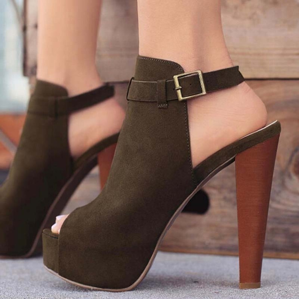 Picture of Women Fashion High Heels Sexy Stiletto Heels Party Sandals
