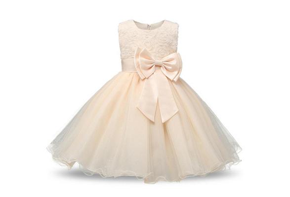 2017 Summer Girl Fashion Sundress Kids Girl Wedding Events Dress Christening Girl's Clothing Teens Elegant Dancing Party Princess Dresses