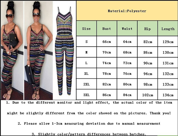 Women Sleeveless Sling Jumpsuit Women Casual Stripped Bodysuit V Neck Backless Playsuit Summer Party Outfits