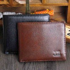 leather wallet, Synthetic leather, Money Clip Wallet, leather