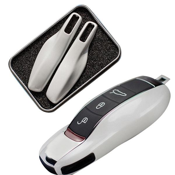 Autosleutel Case Beschermende Shell ABS Plastic Styling Bag Box Voor  Porsche Cayenne Macan Cayman Boxster 911