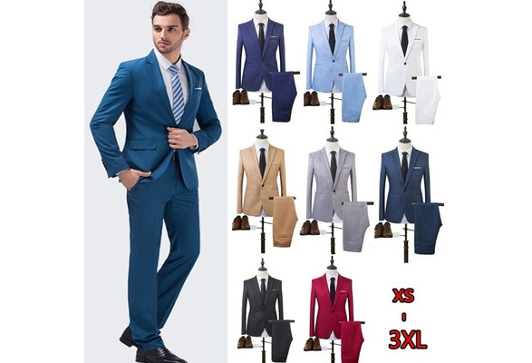 The High Quality Spring 2017 Business and Leisure Suit A Two-piece Suit The Groom's Best Man Wedding 8 Colors