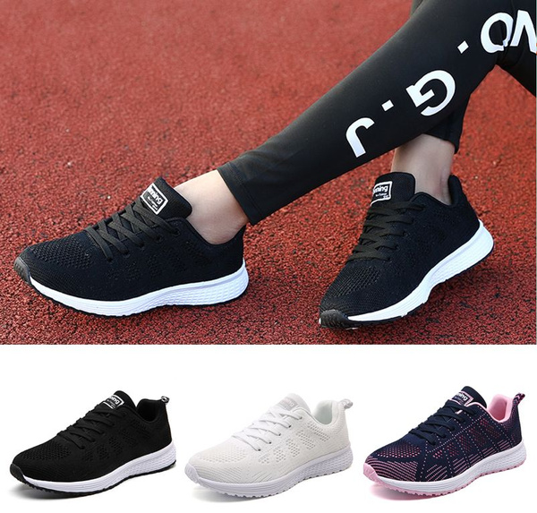 Picture of Size 34-40 Women Running Shoes Fashion Breathable Shoes