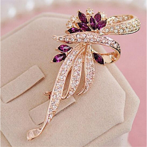 Fashion, crystalbrooche, Jewelry, Gifts